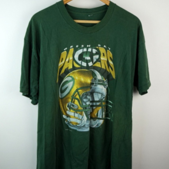 Green Bay Packers T-Shirts Helmet